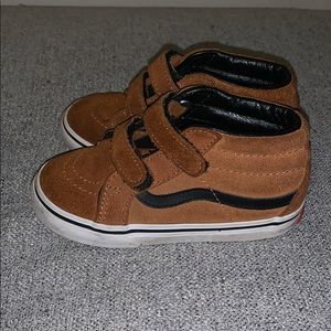 Like New, Limited Edition, Brown Suede High Tops